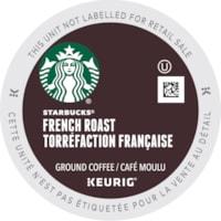 Starbucks Coffee Single-Serve K-Cup Pods, French Roast, 24/BX