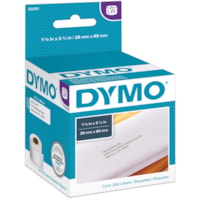 DYMO LabelWriter Address Thermal Labels, White, 1 1/8
