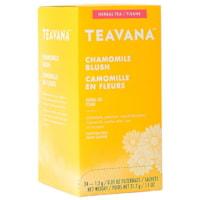 Sachets de thé Teavana, camomille en fleurs, 1,3 g, boîte de 24