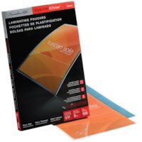 Swingline GBC Clear Fusion EZUse LongLife Menu-Size Speed Thermal Laminating Pouches