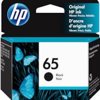 HP 65 Black Standard Yield Ink Cartridge (N9K02AN)