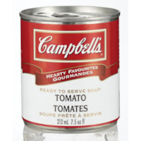 Campbell's Hearty Favourites Ready-to-Serve Soup, Homestyle Tomato, 212 mL