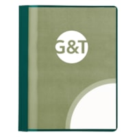 Grand & Toy Report Covers with Clear Acetate Front, Dark Green, Letter-Size, 25/BX