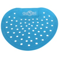 Globe Commercial Products Bubble Gum Scented Vinyl Urinal Screens