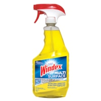 Windex Multi-Surface Antibacterial Disinfectant Cleaner, Trigger Sprayer, 765 mL