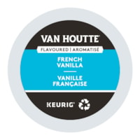 Van Houtte Single-Serve Coffee K-Cup Pods, French Vanilla Flavoured, 24/BX