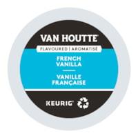 Dosettes K-Cup de café Van Houtte, aromatisé vanille française, boîte de 24