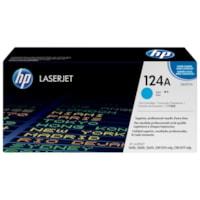 HP 124A (Q6001A) Cartouche de toner HP LaserJet cyan d'origine