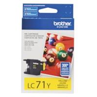 Brother Innobella Yellow Standard Yield Ink Cartridge (LC71YS)