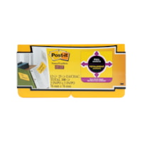 Post-it Super Sticky Full-Adhesive Notes, Yellow, 3
