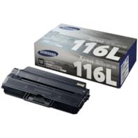 Cartouche de toner à rendement élevé Samsung MLT-D116L (SU832A), noir