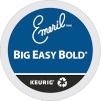 Dosettes K-Cup de café gourmet Emeril's, Big Easy Bold, boîte de 24