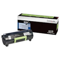 Lexmark 501H Black High-Yield Return Program Toner Cartridge (50F1H00)