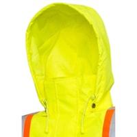 Viking Professional Journeyman 300D Detachable Snap-On Hood, Bright Green
