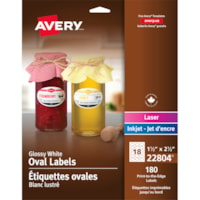 Étiquettes à adhésif permanent imprimables jusqu'au bord Avery