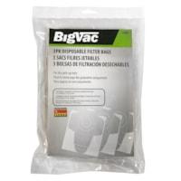 Sacs-filtres jetables pour aspirateur, emb. de 3