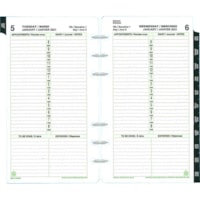 Day-Timer 12-Month Portable-Size Loose-Leaf Planner Refill