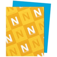 Papier Astrobrights Neenah, bleu ciel, format lettre, certifié FSC et Green Seal, 24 lb, rame
