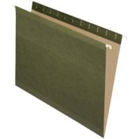 Pendaflex Premium Reinforced Hanging Folders, Standard Green, Letter Size, 25/BX