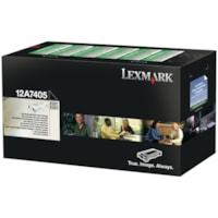 Cartouche de toner à rendement élevé Lexmark E321, E323 Programme de retour (12A7405), noir