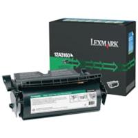 Cartouche de toner à rendement élevé remise à neuf Lexmark 12A3160, noir