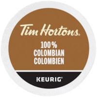 Dosettes K-Cup de café Tim Hortons, 100 % colombien, boîte de 24