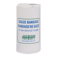 SAFECROSS Gauze Bandage Roll, 2