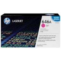 Cartouche de toner à rendement standard HP 646A (CF033A), magenta