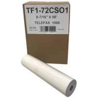 McDermid Thermal Fax Paper Rolls, 8 1/2