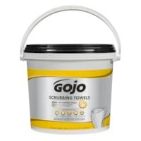 Gojo Heavy-Duty Scrubbing Hand & Surface Towels, 170/PK