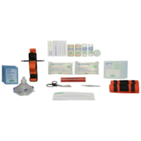 SAFECROSS Basic First Aid Kit Refill, British Columbia, Level 1, 36-Unit, Unitized