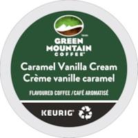 Green Mountain Coffee Single-Serve K-Cup Pods, Caramel Vanilla Cream, 24/BX