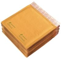 Enveloppes matelassées autocollantes Grand & Toy, kraft, format CD/DVD, 7 1/4 po x 7 1/8 po, emballage de 12