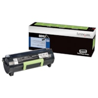 Lexmark MS510, MS610 Black Ultra-High Yield Return Program Toner Cartridge (50F1U00)