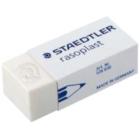 Staedtler Rasoplast Vinyl Eraser, Soft White, Medium Size
