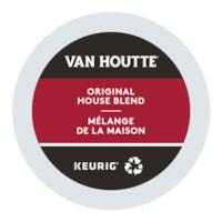Van Houtte Single-Serve Coffee K-Cup Pods, Original House Blend, 24/BX