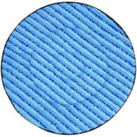 Tampons de nettoyage en microfibre pour autorécureuse SuperCourt Diversey, bleu, 20 po, caisse de 5