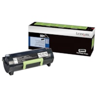 Lexmark 501 Black Standard Yield Return Program Toner Cartridge (50F1000)