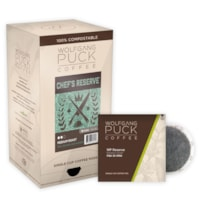 Wolfgang Puck Single Cup Coffee Pods, Chef's Reserve Medium Roast, 18/BX - Ontario, Montreal and Quebec Residents Only