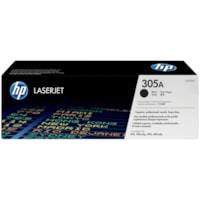 Cartouche de toner à rendement standard HP 305A (CE410A), noir