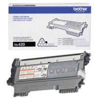 Brother Black Standard Yield Laser Toner Cartridge (TN420)