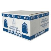Sacs à ordures industriels transparents Eco II Manufacturing Inc., ultrarobustes, 30 po x 38 po, caisse de 125