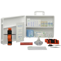 SAFECROSS Basic First Aid Kit, British Columbia, Level 2, #2, Plastic Box, Unitized
