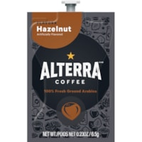 Flavia Alterra Single-Serve Coffee Freshpacks, Hazelnut, 100/CT