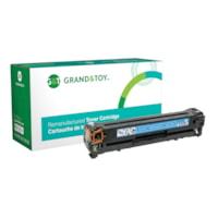 Grand & Toy Remanufactured HP 125A Cyan Standard Yield Toner Cartridge (CB541A)