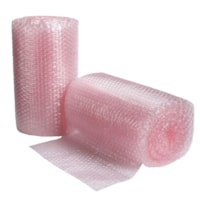 Crownhill Anti-Static Pink Bubble Wrap Cushioning Rolls