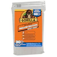 Bâtons de colle chaude Gorilla, format miniature, 4 po, emb. de 30