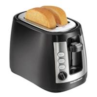 Hamilton Beach Warm Mode 2-Slice Toaster, Black