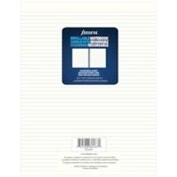 Filofax Notebook Lined Refill Paper, Cream, 8 1/2