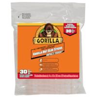 Bâtons de colle chaude Gorilla, grand format, 4 po, emb. de 30